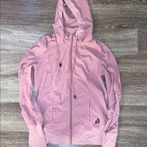 PTULA pink zip up jacket